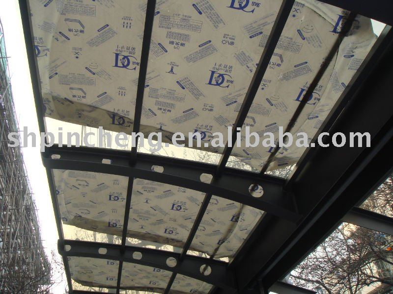 compact polycarbonate sheet canopy roofing