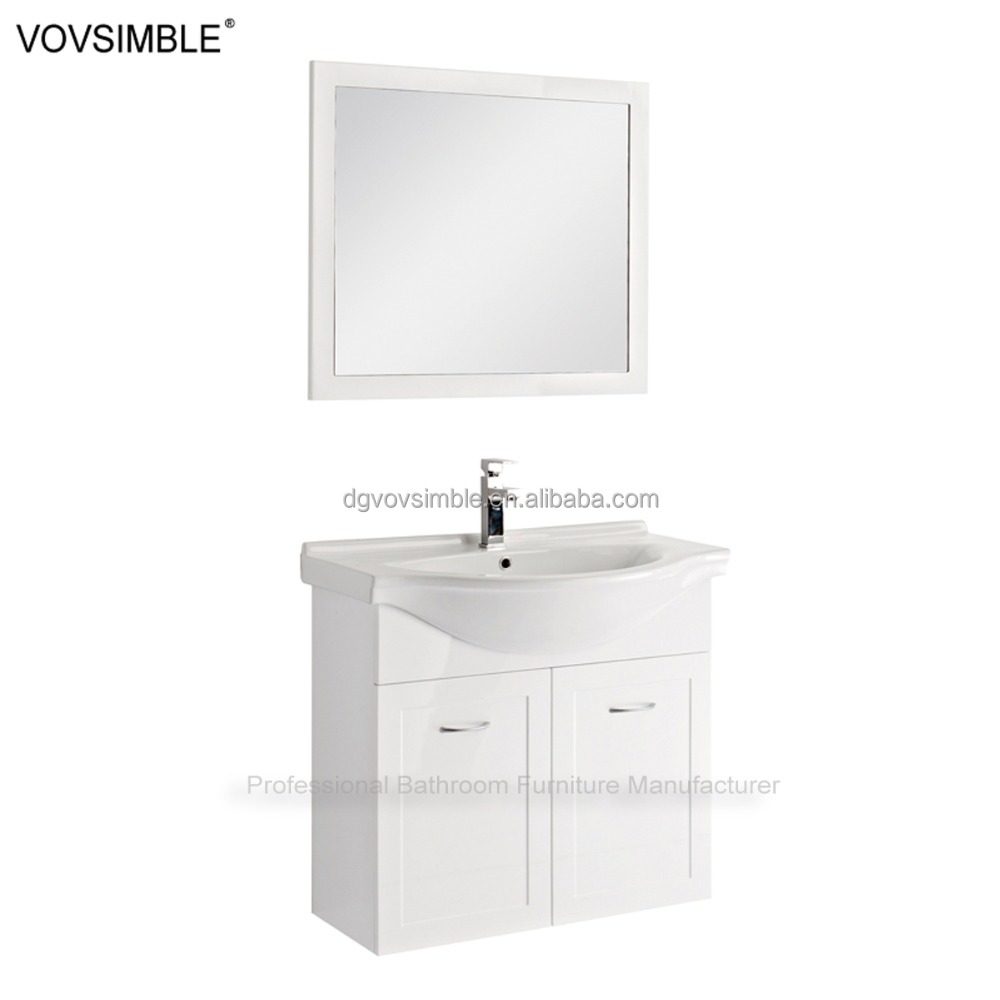 High-end USA style bathroom mirrored medicine illuminated modern dressing mirror side cabinet