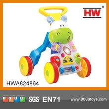 High Quality Plastic Musical Baby Walking Cart