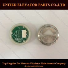 Kone Elevator Push Buttons 853343H02 KDS50 KDS300 White Red Light without Braille