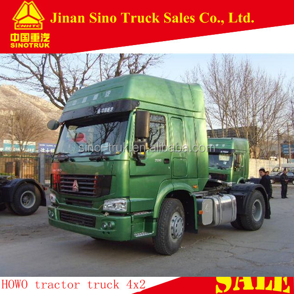 HOWO 4x2 international tractor truck head for sale