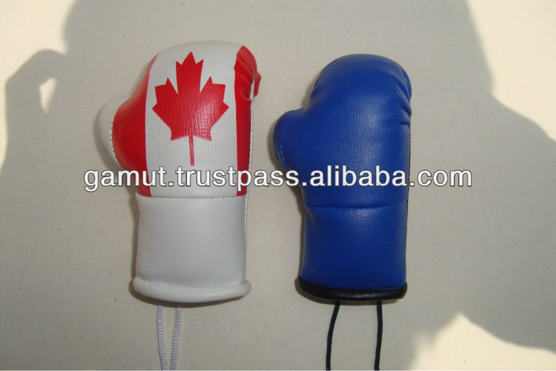 Mini Boxing Gloves Car Hanging Gloves