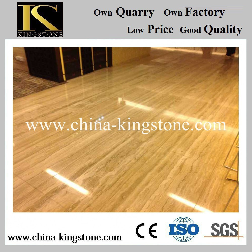 Cheapest China factory beige travertine marble price with own quarry ...