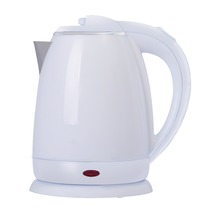 1.8L capacity 2018 hot sale home appliances cheap price water kettle double wall plastic with stainless steel electric kettle