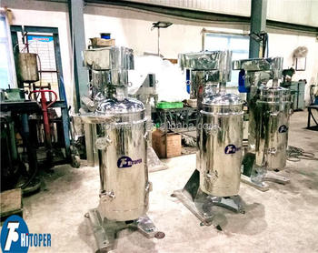 Solid-liquid separation centrifuge, hot sale high speed gq105 centrifuge