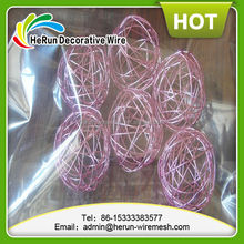 Wholesale Decorative wire balls/Christmas tree hanging balls