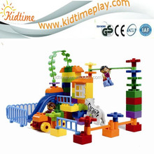 aniaml mould children plastic building blocks toys