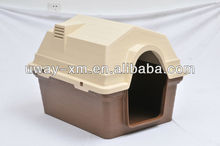 Big size plastic traveling pet cages with door
