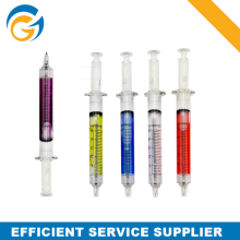Colorful Syringe Shaped Promotional Ball Pen