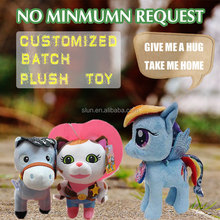 New design custom plush horse toy stuffed plush horse with high quality