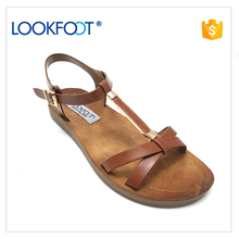 Low Price ladies casual sandals shoes women 2017 designs