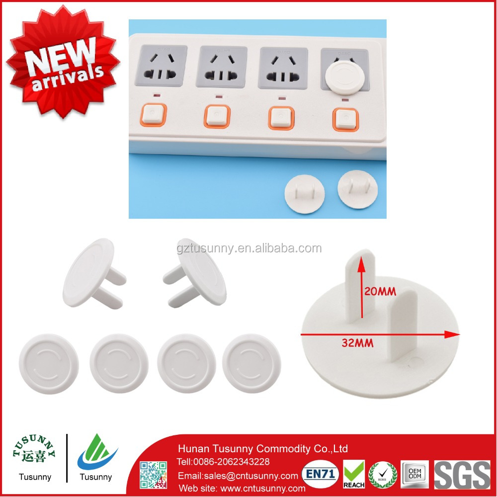 plastic safety plastic electric childproof outlet covers