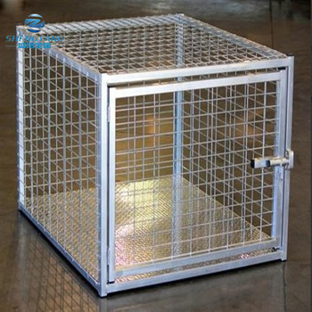 heavy duty Indestructible escape proof steel dog crate