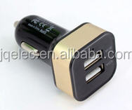 2 port USB car charger for tablet, smartphone 12v/24v to 5v 1a, 2a, 2.1a, 2.4a, 3a, 4a, 4.2a, 4.8a