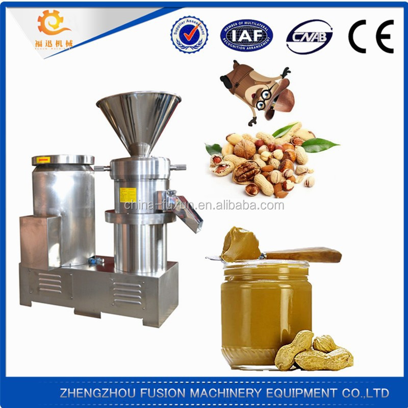 good quality chili sauce/sesame/penut/bone processing machine