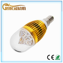 the cheapest stuff from china 360lm 4w E14 very small led light