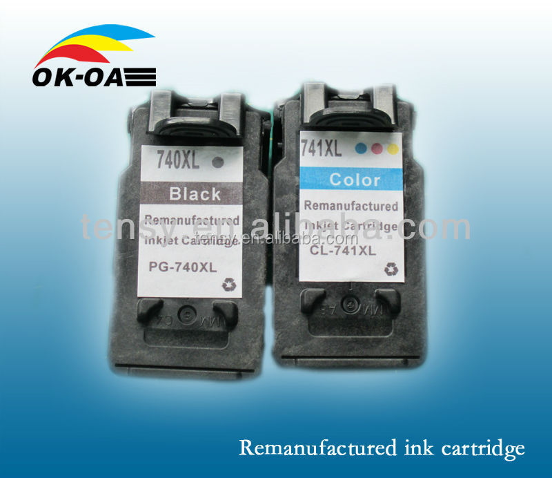 new compatible ink cartridge pg740 for Canon printer refilled inkjet cartridge best selling products