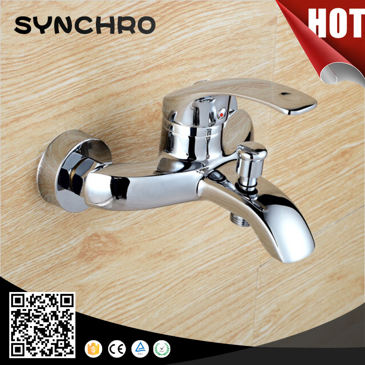 SKL-2380B Unique design wall mounted polished bathtub faucet