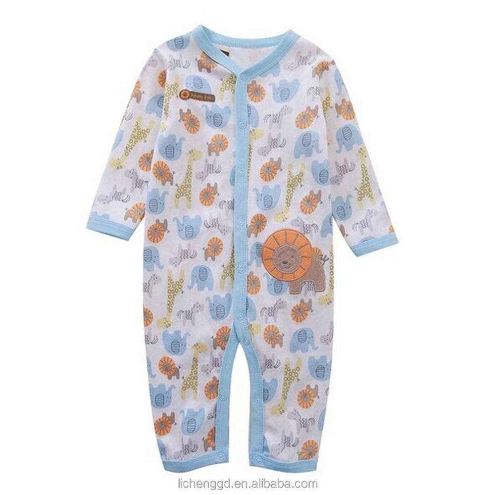 (H4930) New fashion infant kids clothing one piece set Autumn-spring infant baby romper suits
