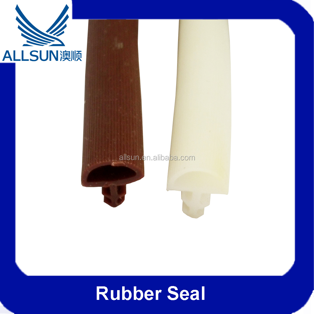 Waterproof Wood Door Rubber Seal