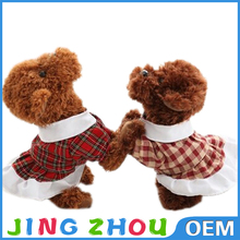 China EN71 standard wholesale girls dog plush, singing dog musical plush toy