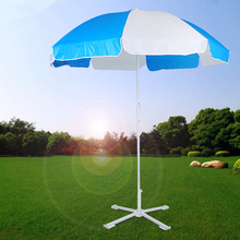 High quality cheap outdoor beach parasol umbrella frame with base