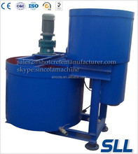 Double layer for Slurry Mixer of slow or fast mixing