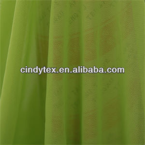 40d drapery smooth knitted nylon stretch mesh fabric