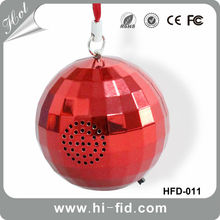 CE/ROHS/FCC New keychain mini portable speaker wireless for mobile phone and Mp3 Players