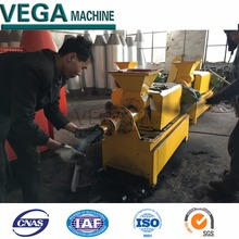 extruder for coal/charcoal stick/bar extruder briquette press machine.manufactor