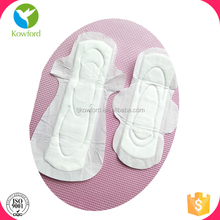 Cotton Material and Night Time Used natural lady Sanitary Towel 320mm 350mm