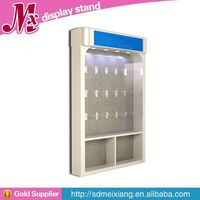 Metal cake display case, MX9675 direct sell wood clothing display shelf
