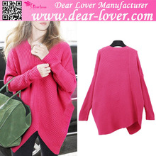 Womens clothing fall 2015 wool handmade sweater design for girl