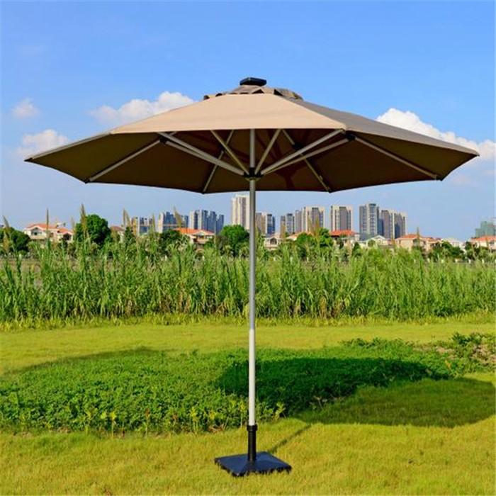 Wholesale Solar Umbrella Fan Outdoor Umbrella Sale Buy