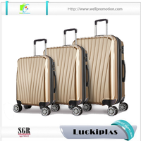 3 Piece Trolley Luggage Set Unique