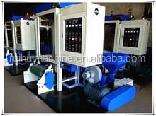 PE simple type high-low pressure vest bag packing plastic film blowing machine