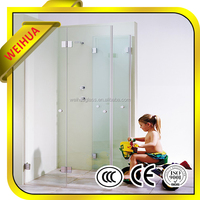glass shower door stop plastic with ccc ce iso certificates