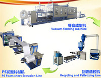 ps foam styrofoam food box/plate making machine PS Disposable Thermocol Plates Making Machine