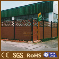 Guangzhou Wpc Lattice Garden fence/House decoration with stockable hot sales fence
