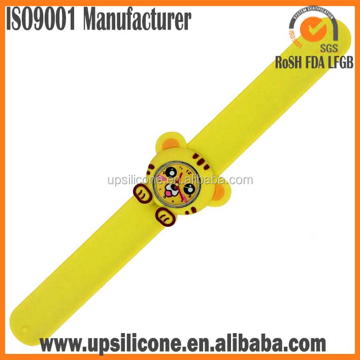 silicone slap watch cheap wholesale kids slap watches silicone