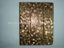 Wholesale price for IPad 2 3 4 Case High Quality pad case stone pattern case