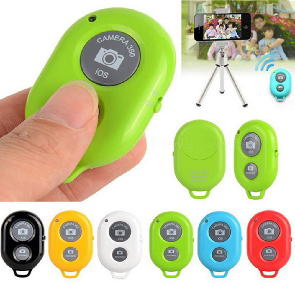 Selfie Wireless Bluetooth Remote Shutter Button For Android Iphone