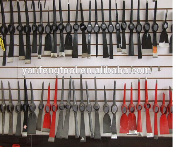 good quality different types of farming garden pickaxe P404