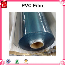pvc super clear soft transparent film