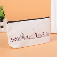 Wholesale oxford Advertising pencil case personalized with Custom Logo