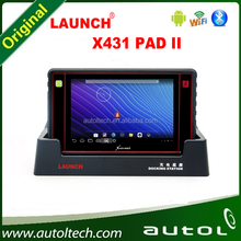 Launch X431 PAD II Car Diagnostic Scanner Supports over 140 car brands and over 2000 car models