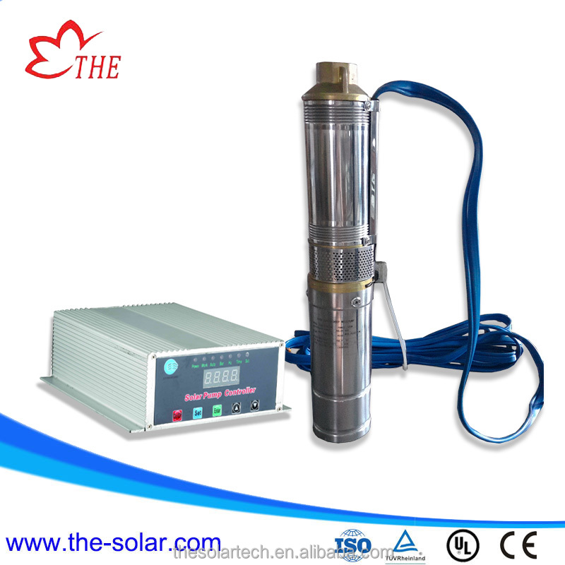 DC solar powered submersible water pump price