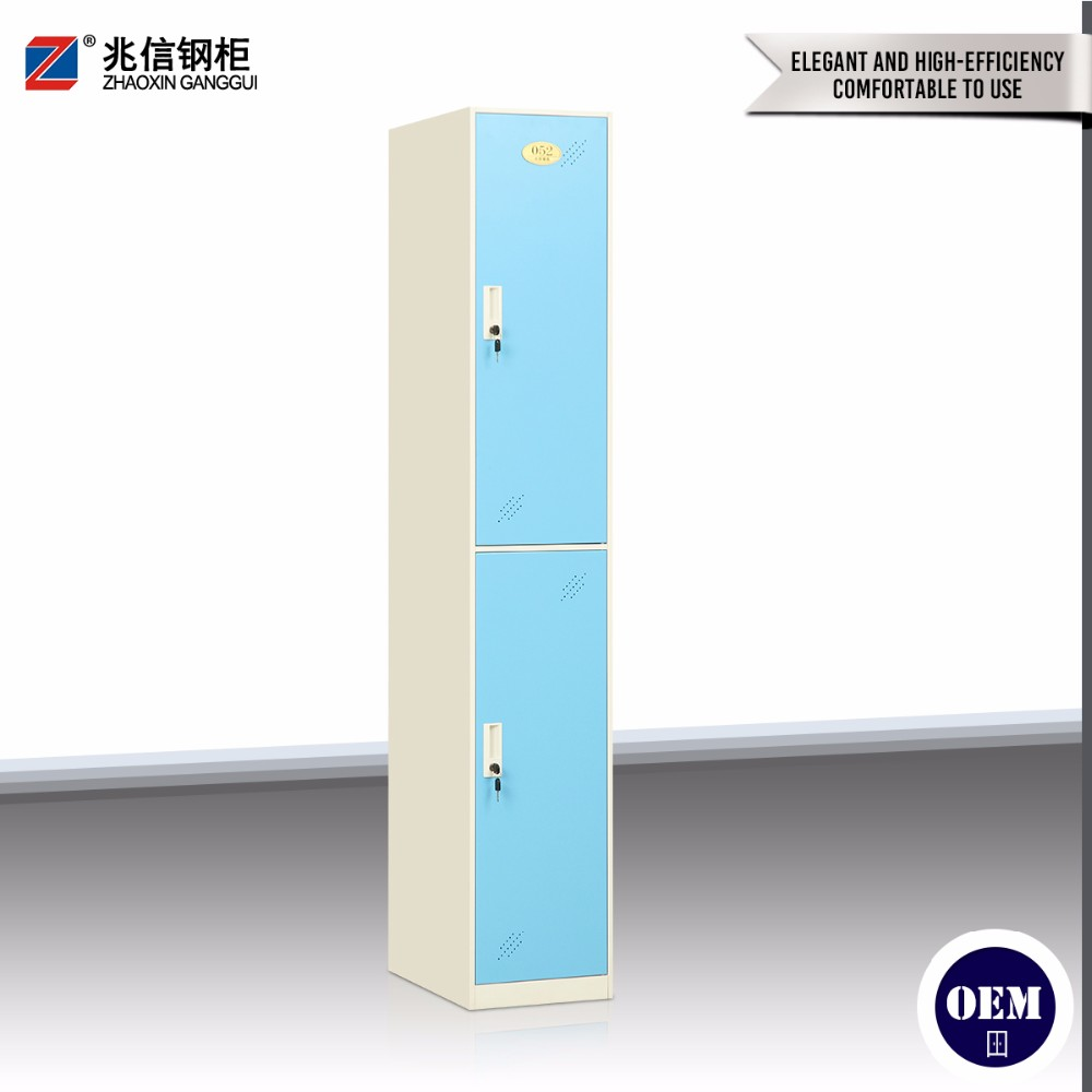 Bathroom use stainless steel locker cabinet