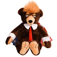 2019 Funny Donald Trump Teddy Bear stuffed <strong>animals</strong>
