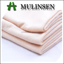 Mulinsen Textile Combed Yarn Plain Dyed Jersey 100% Cotton Knitted Fabric for Underwear